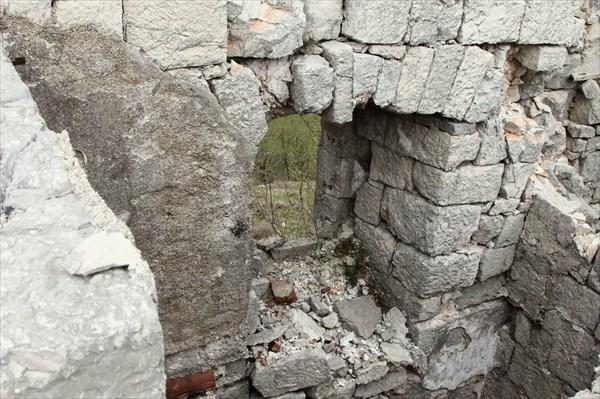 Крепость Under (donji Grkavac)
