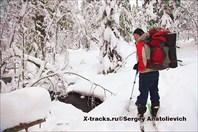 Лыжный поход по Лапландии 2011-2012