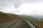 Спуск с перевала Шит-Джатмаз