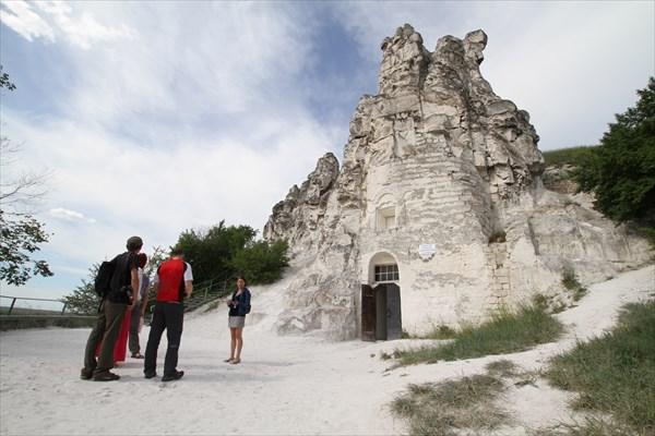 Монастырь в горе