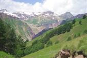 Вид с дороги на водопад `Девичьи косы`