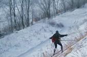 Этап `Спуск на лыжах`