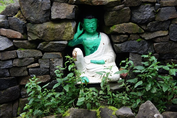 Зеленый Будда.