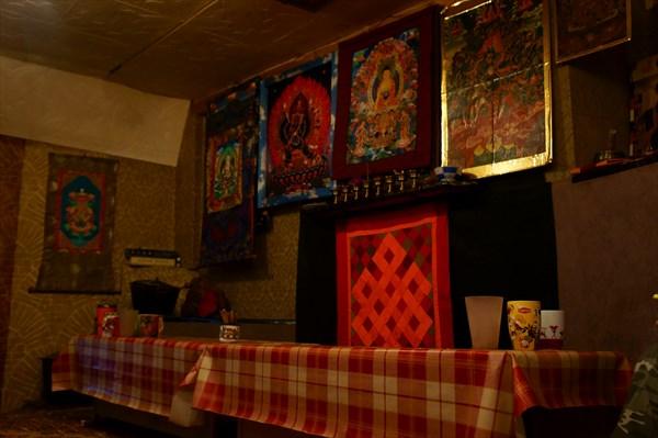 Главное помещение монастыря.
