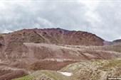 Вид на южный склон перевала Кегеты