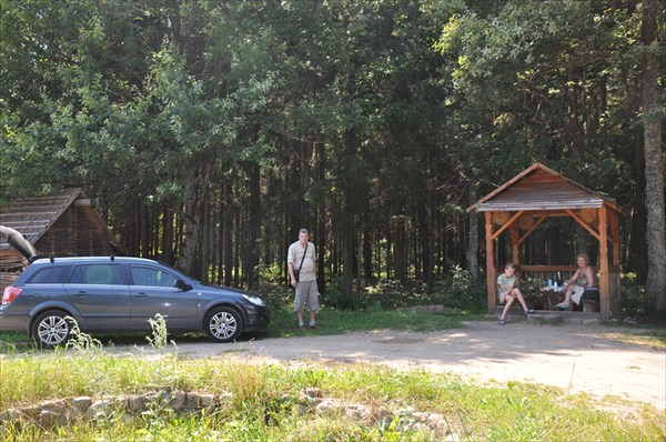 Беловежская пуща... остановка в лесах Белоруссии