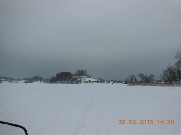 Озеро Селигер у д. Залучье