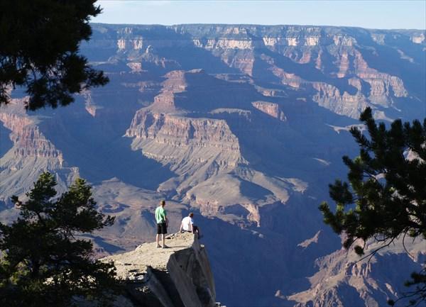 Для сравнения Большой Каньон (Аризона, США). Собственное фото
