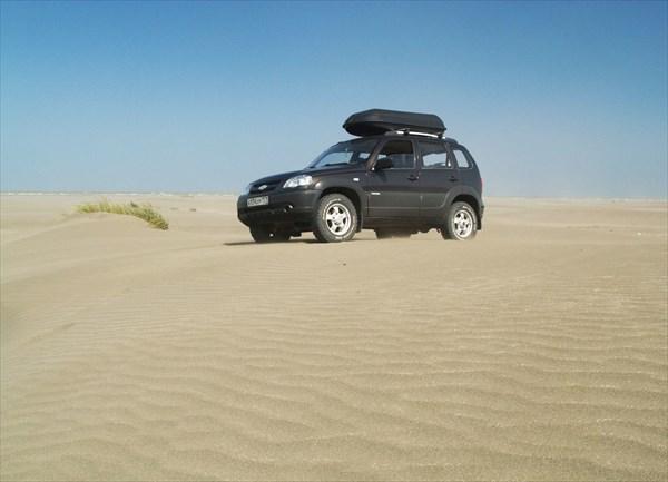 Маленькая пустыня на Аграханской косе.