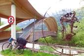 Велопешеходный мост на пересечении четырех областей, Австрия