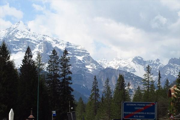 Перевал Cimabanche 1540m