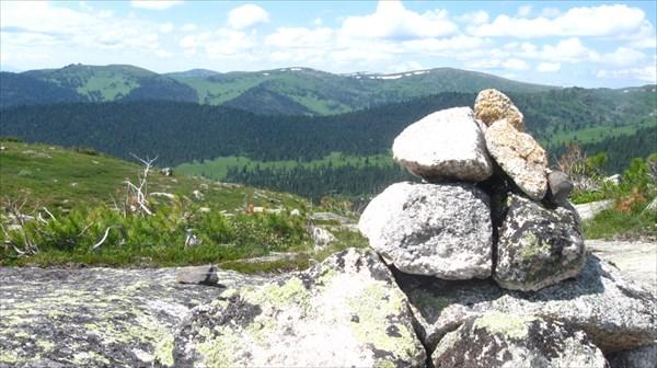 По пути на Висячий камень