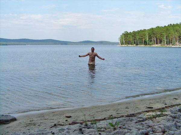 Вода холодная.