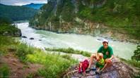 По тропе на Чемальскую ГЭС