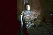 водовод в туннеле Титуса