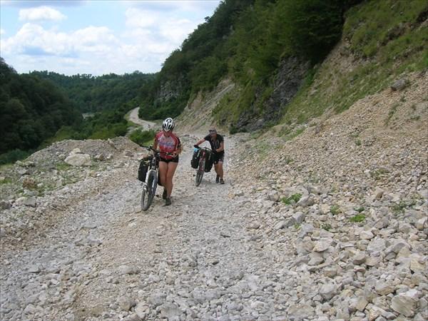 На пути к курорту Лебарде