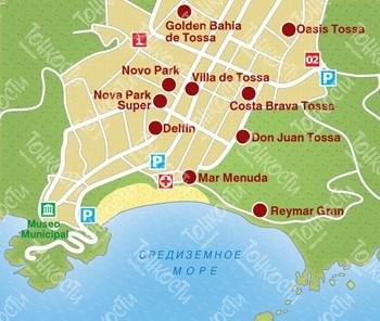 013-Тосса-де-Мар-карта