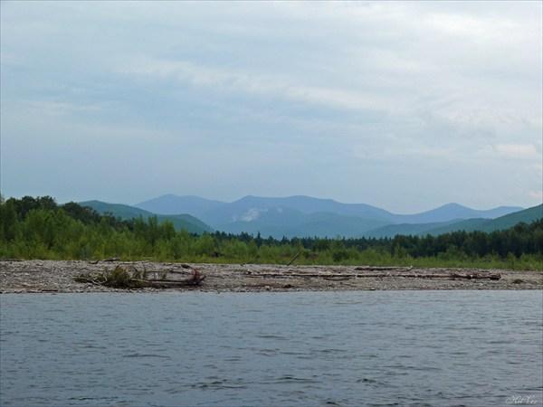Амгунь в районе притока Куркальту