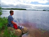 рыбалка на гимольском озере