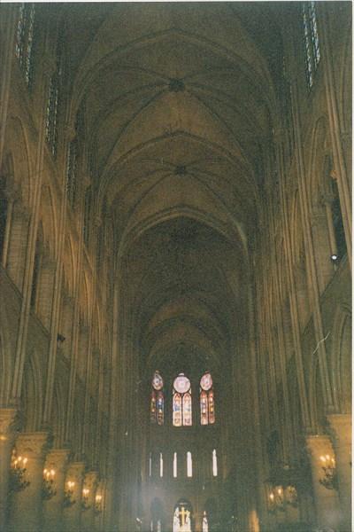Собор Парижской Богоматери, интерьер