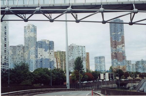Комплекс общежитий Aillaud Towers, Nanterre Paris