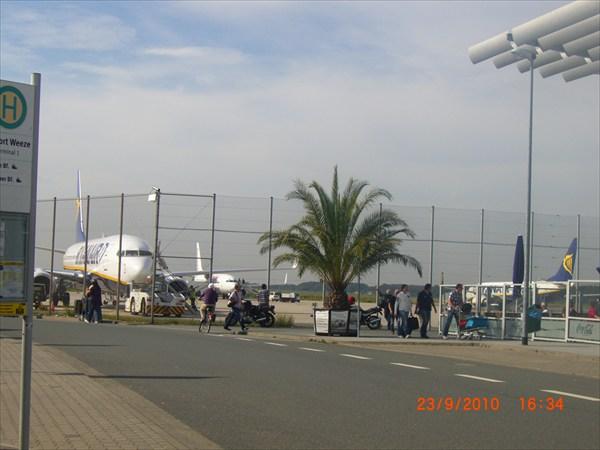 Аэропорт г.Виз(Германия)