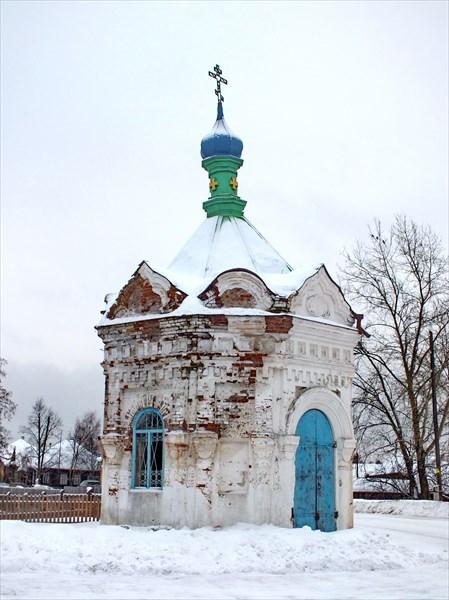 С. Красногорское, часовня Спаса Нерукотворного образа