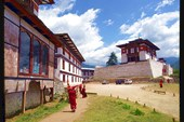 Монастырь в Тимпху