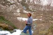 на Чучхурском водопаде