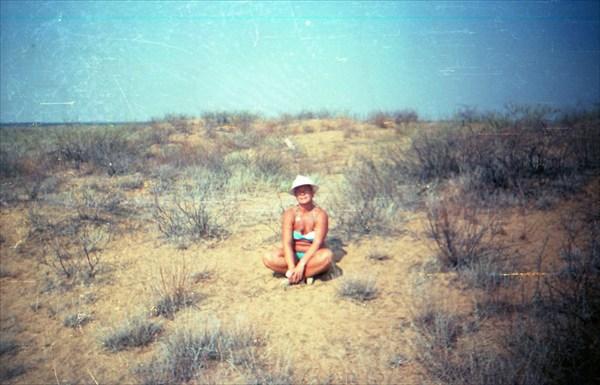 Наталья Николаевна в пустыне