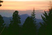 13. Закат в горах