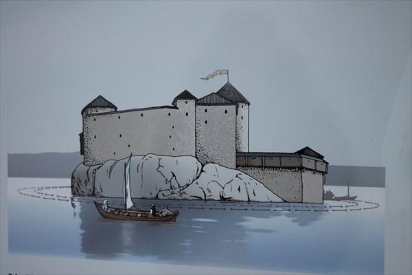 Замок в 13 веке