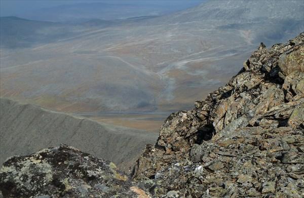 Вид с вершины Лядхэй