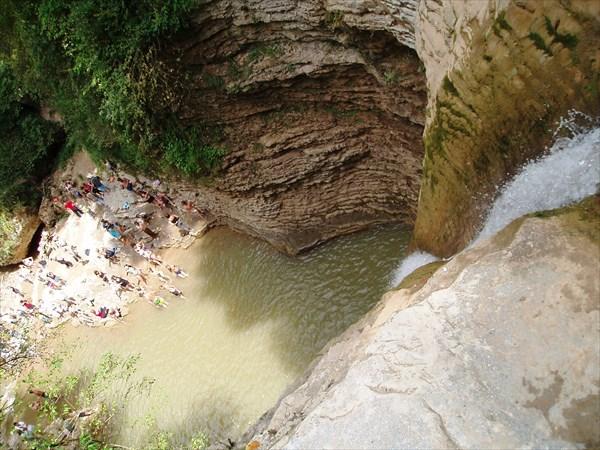 Водопад Девичья коса, р. Руфабго, пос. Каменномостский