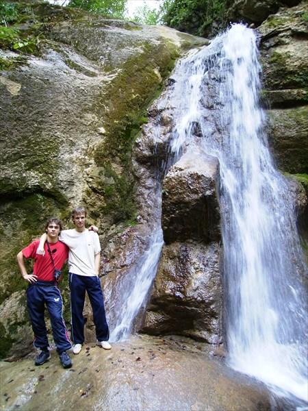 Нижний водопад реки Мешоко