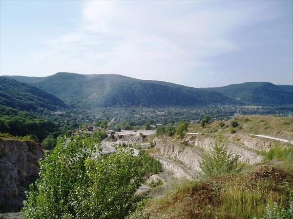 Вид на Хаджох