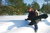 Очарован нетронутой гладью снежого покрова