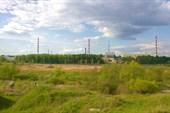 Вид на первую в мире АЭС