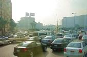 Каир, улицы города. Пробки :)