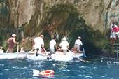 Остров Капри. `Ворота` в Голубой грот