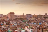 Вид на Гавану утром