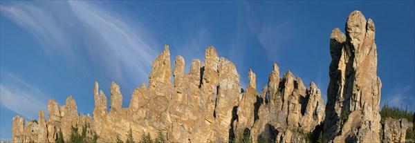 Панорама столбов