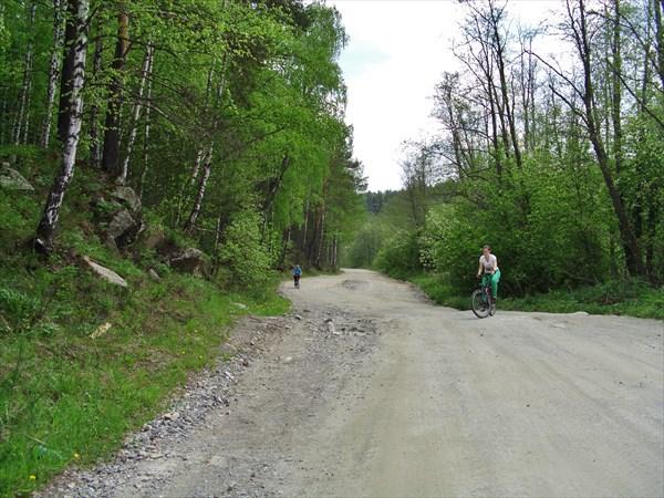 Дорога всё время в гору.