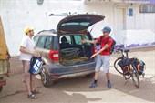Велосипедный катафалк