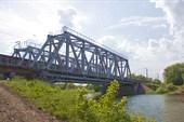 Ж/д мост через Казанку