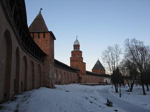Новгородский Кремль — Детинец