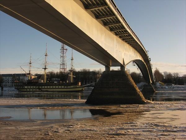 Горбатый мост с Софийской стороны