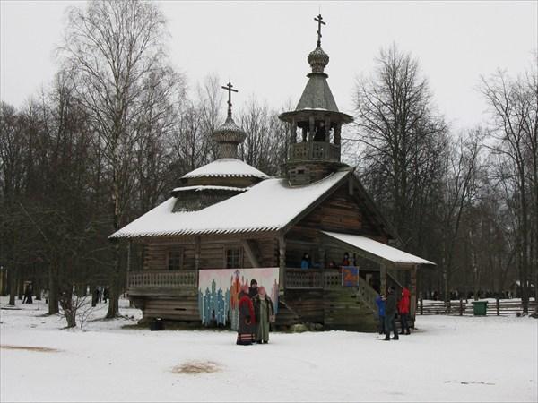 Витославлицы, часовня из деревни Каширка, XVIII век