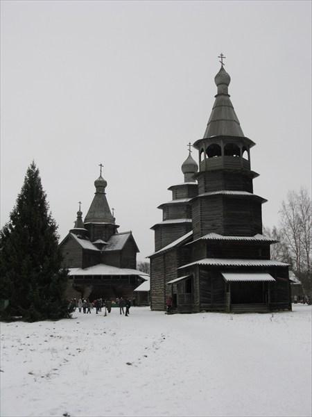 Витославлицы, ярусная церковь Николы 1757 года