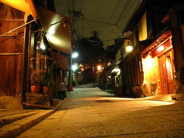 на фото: Киото